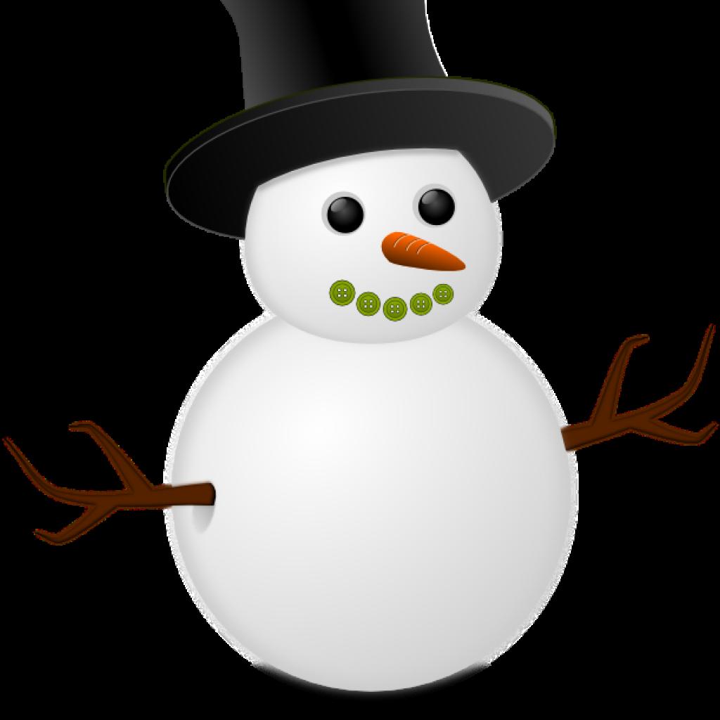 snowman clipart january