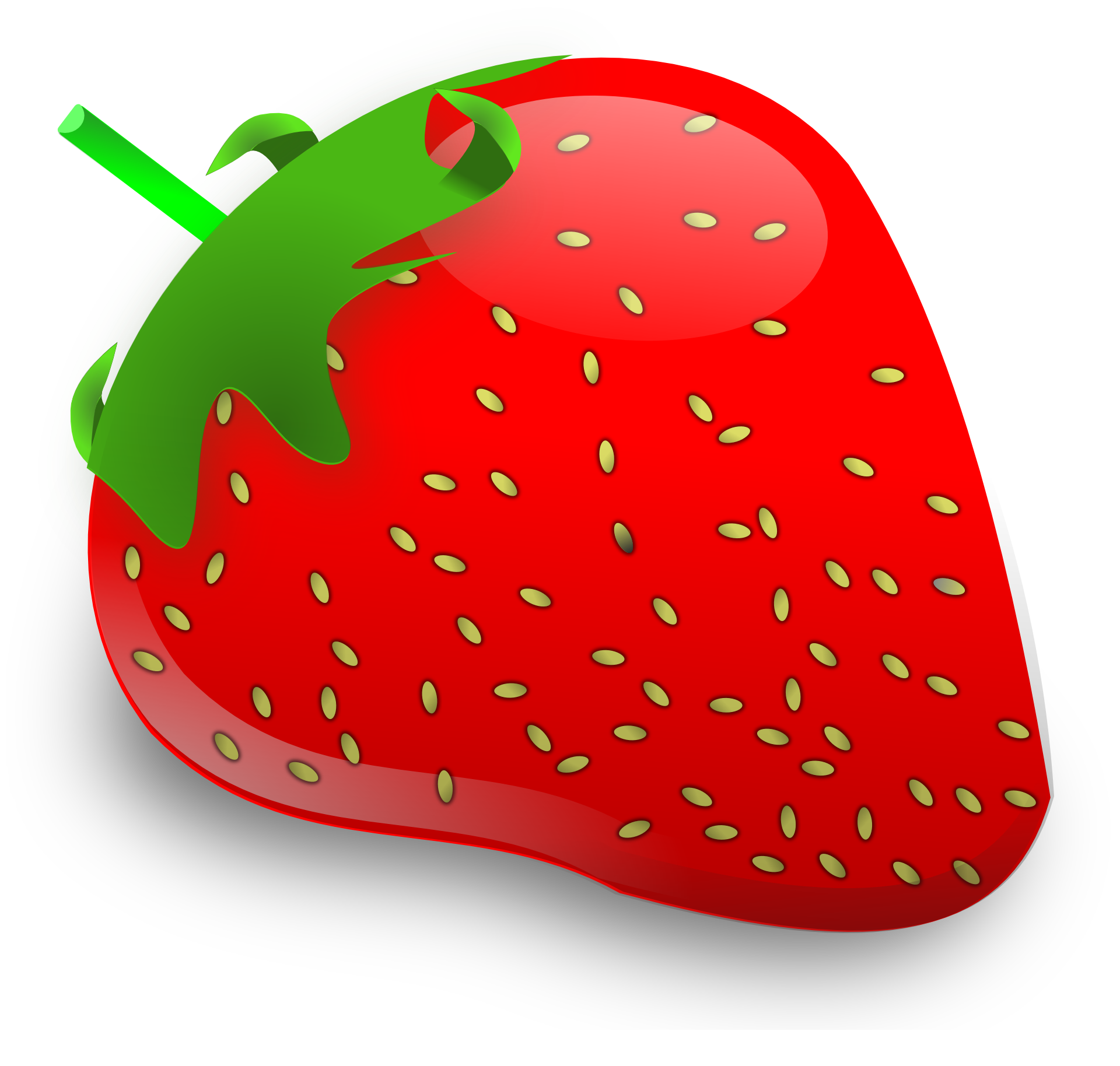 Fifty three isolated stock. Lemons clipart strawberry