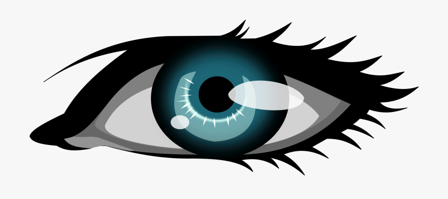 Clipart eyes third eye. Olhar the blue clip