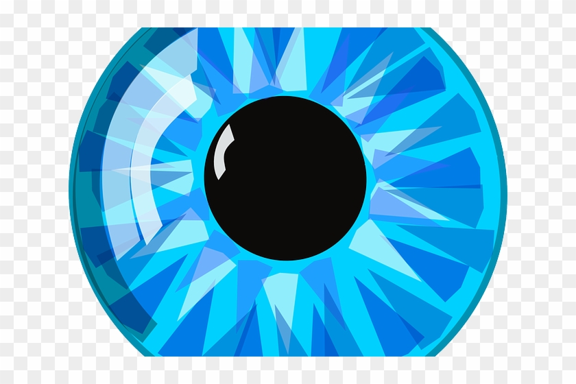 Blue cartoon transparent . Clipart eyes third eye