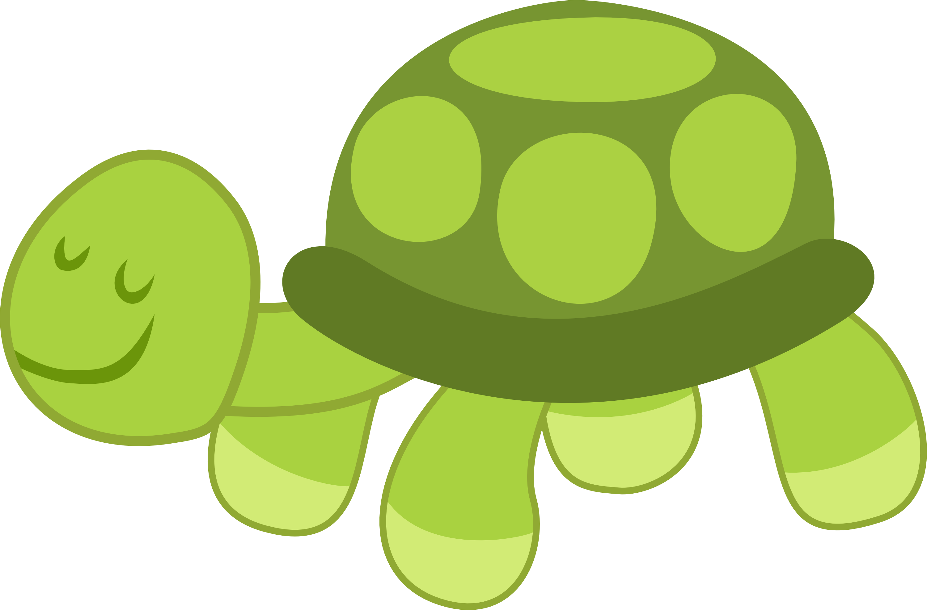 Eyes clipart turtle.  cartoon with big