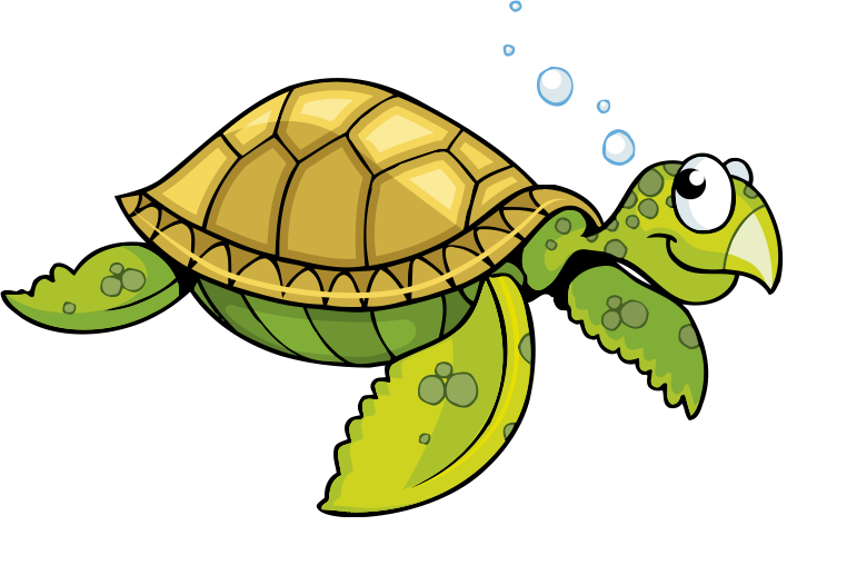 Pet clipart pet tortoise. Sea turtle cartoon bubble