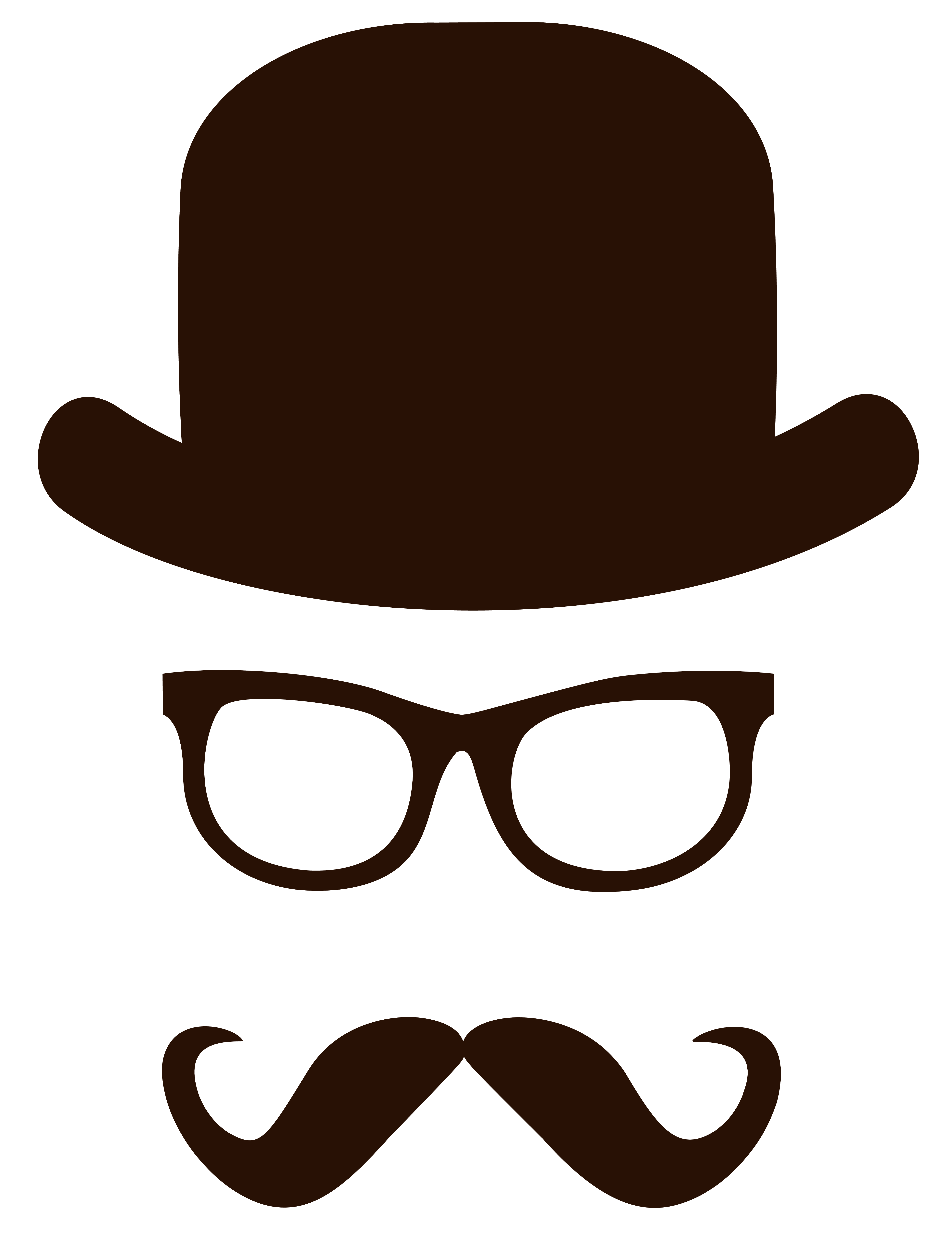 Movember png picture gallery. Clipart face