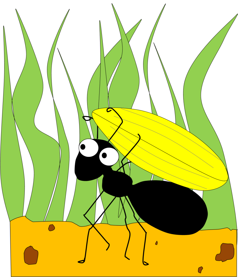 Free clipart ant.  collection of working