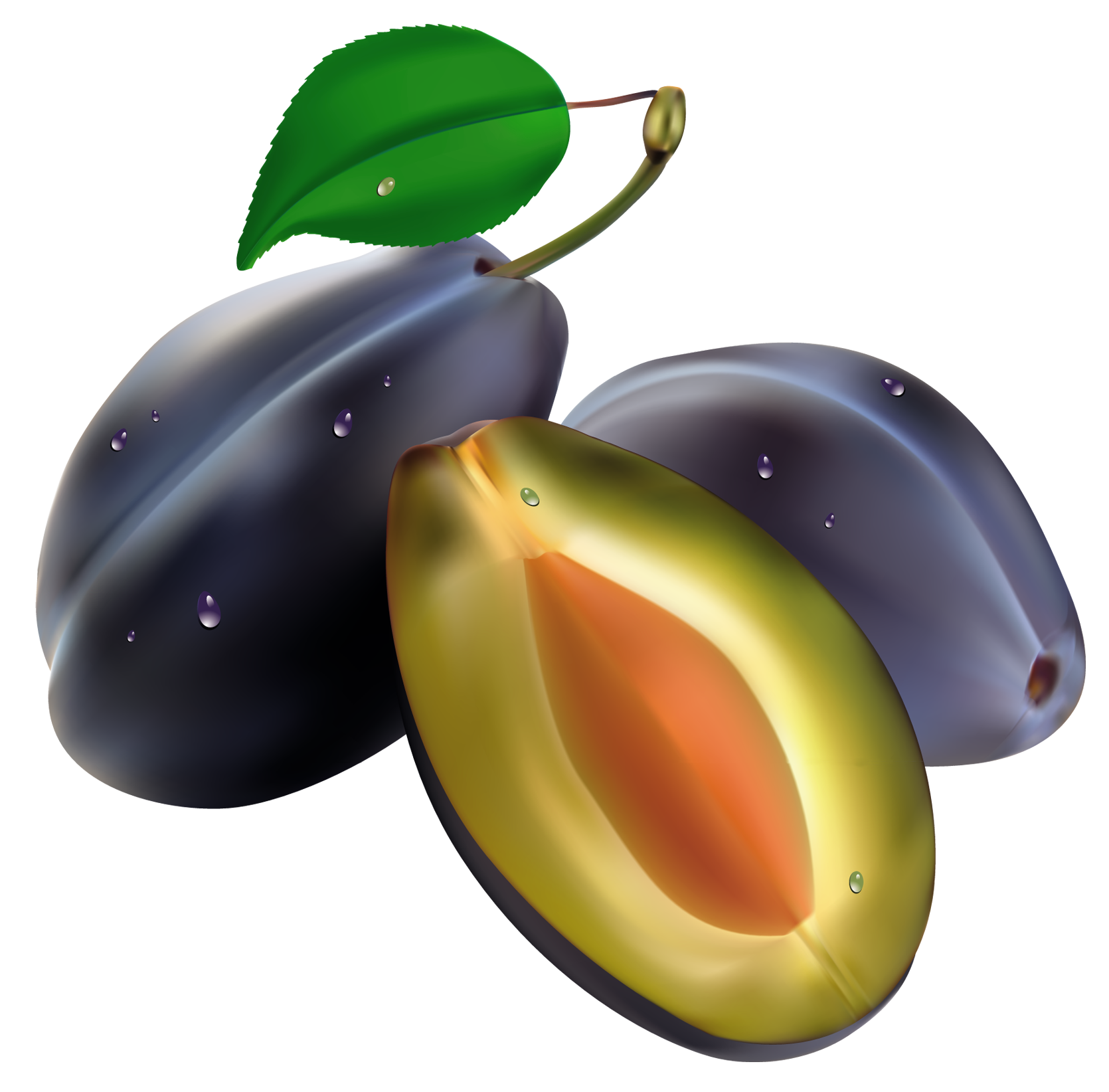Pomegranate clipart summer. Plums png picture food
