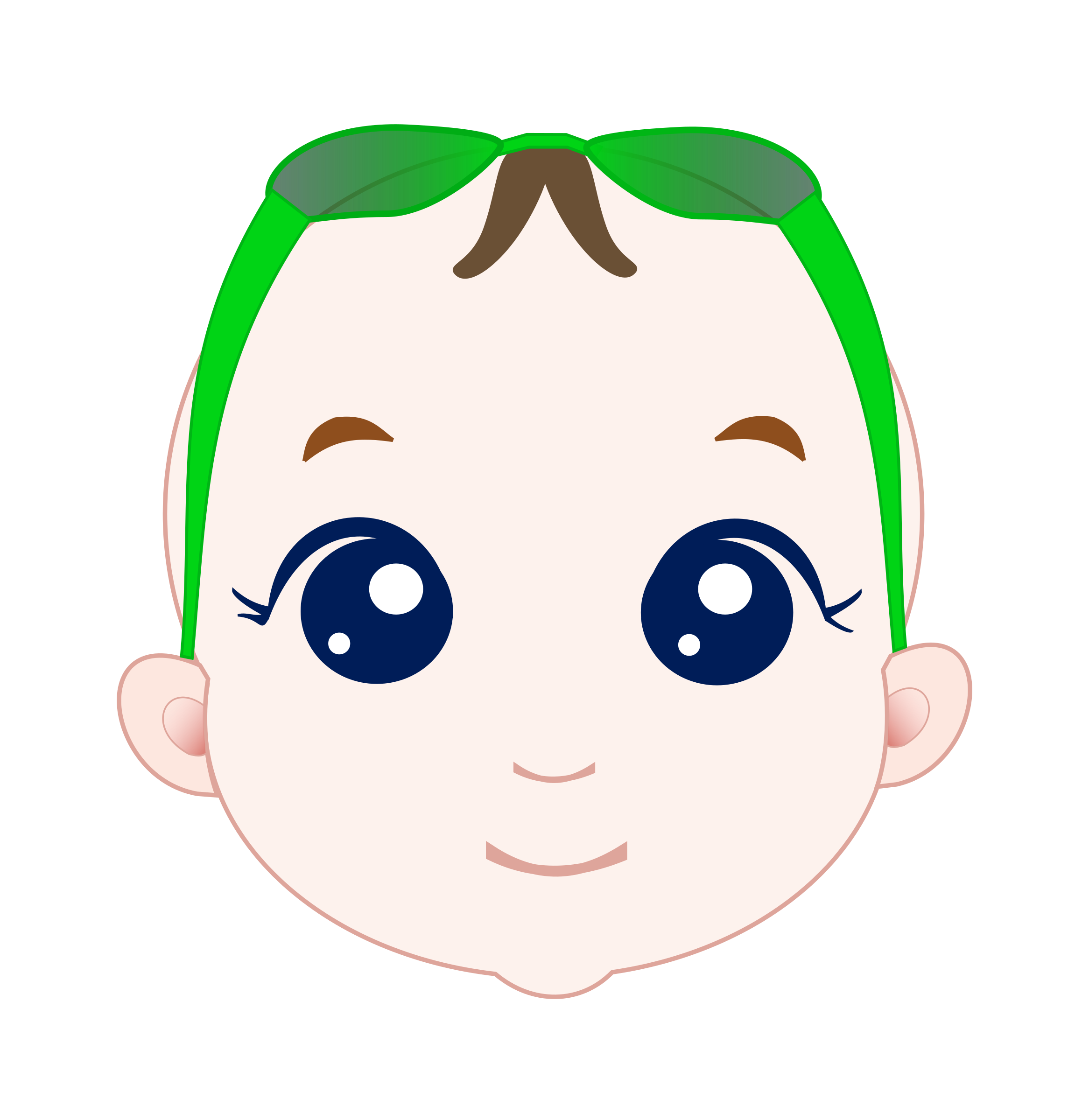 Face clipart baby boy. Big image png