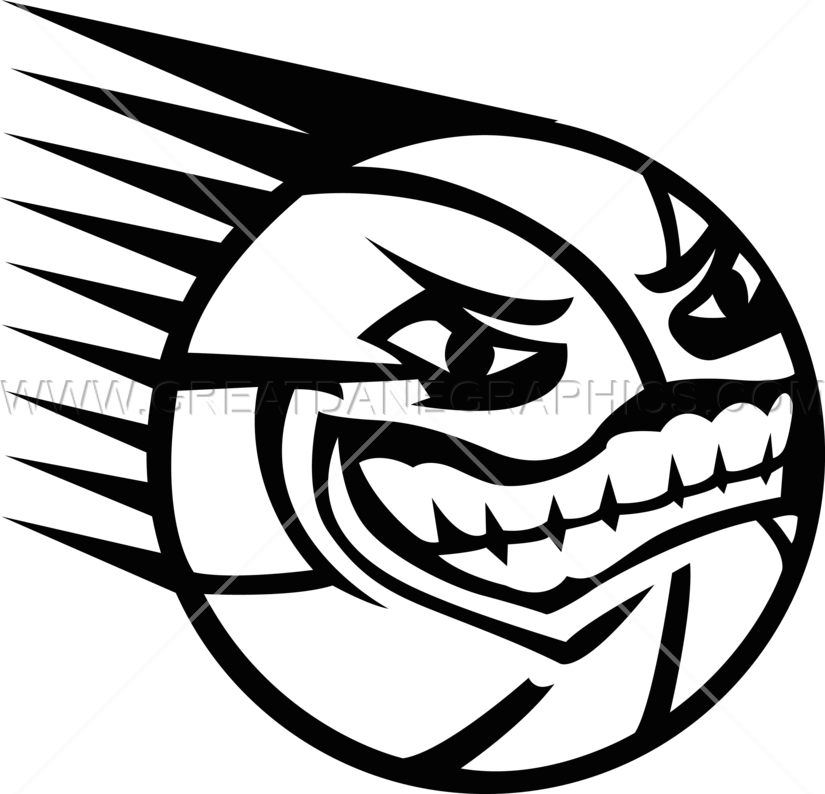 Clipart face basketball. Spiky with production ready