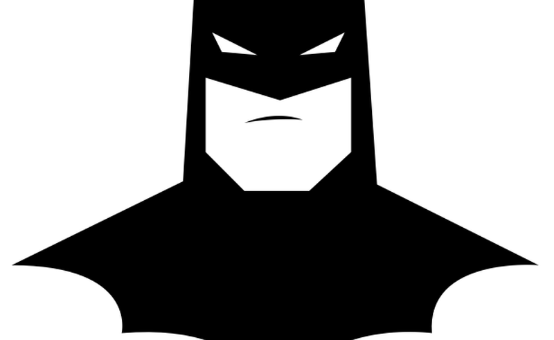 Pattern beauty within clinic. Face clipart batman
