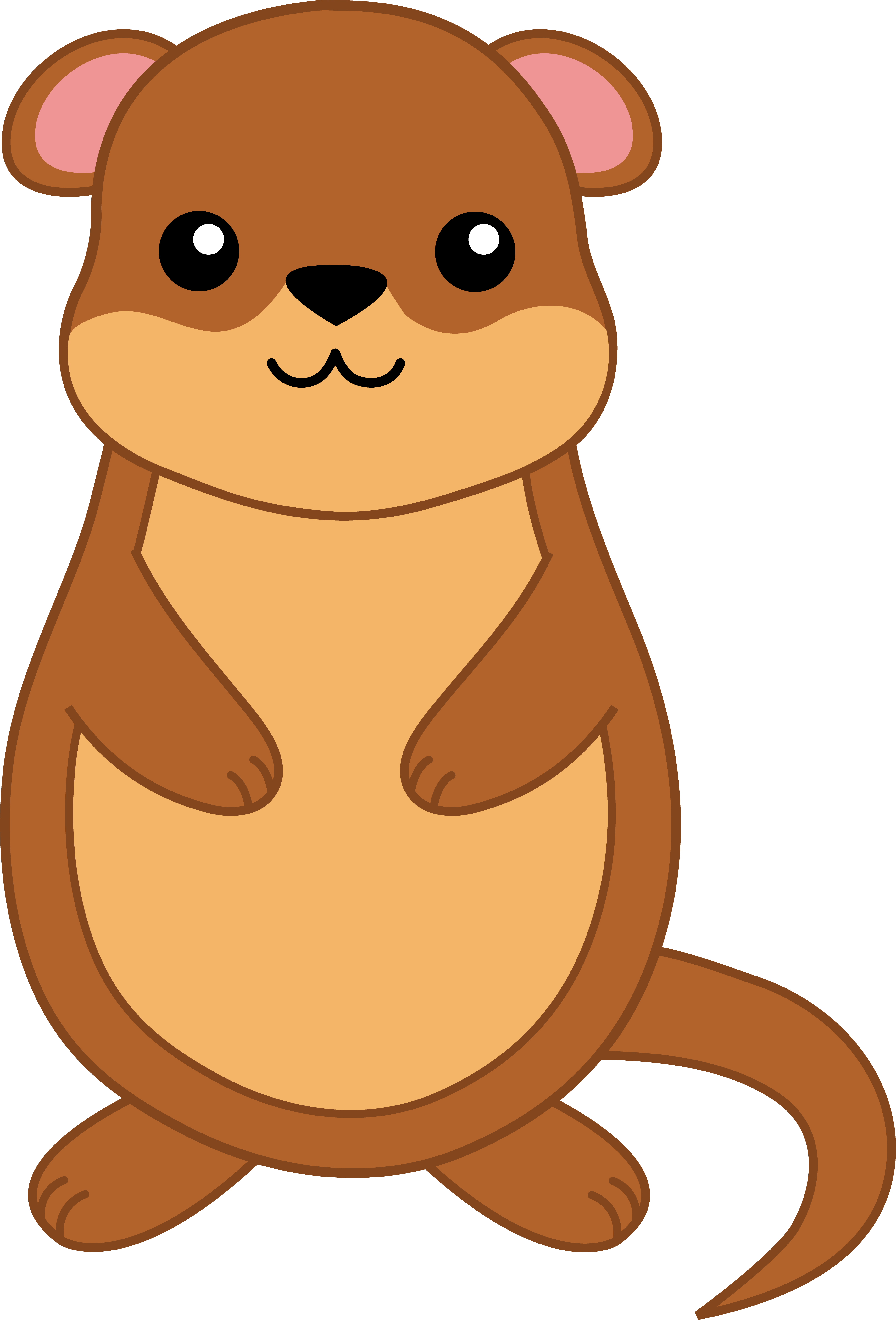 Groundhog clipart sea otter. Free day at getdrawings