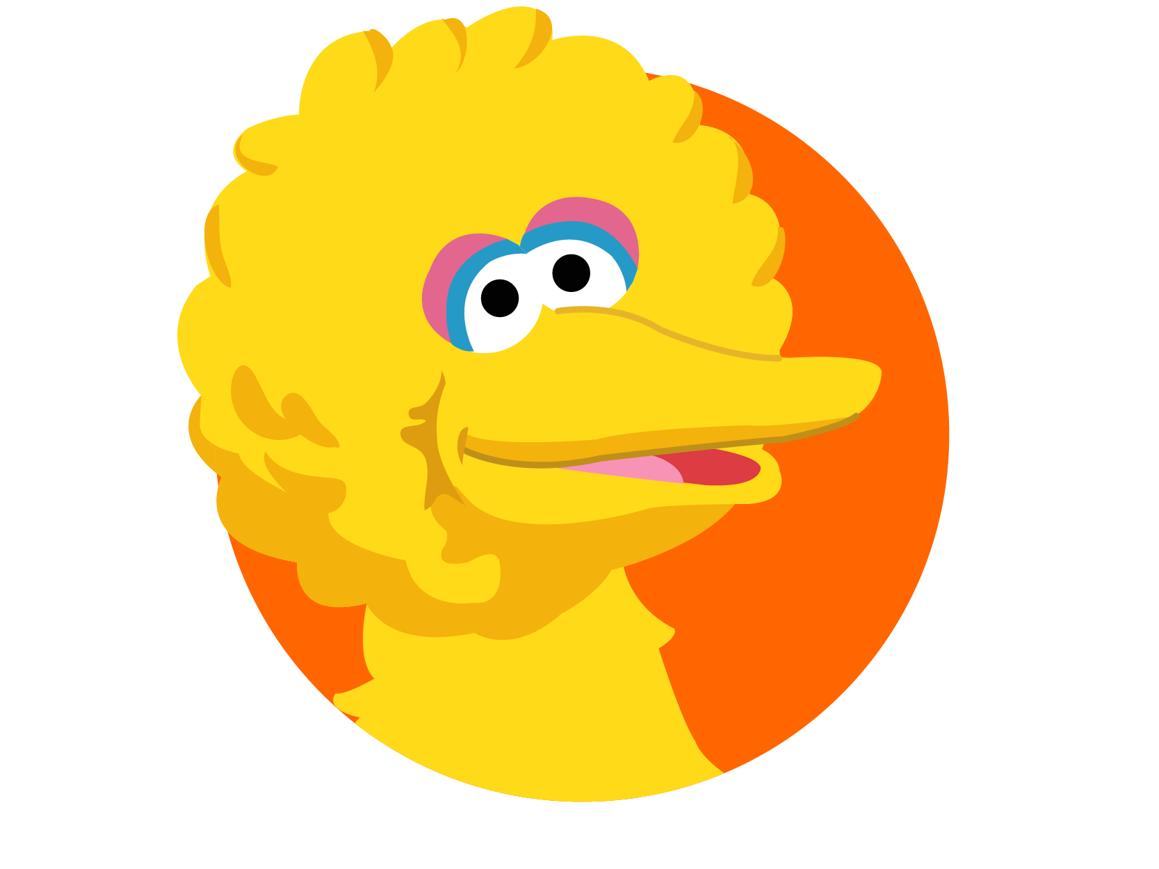 Clipart face big bird. Free on dumielauxepices net