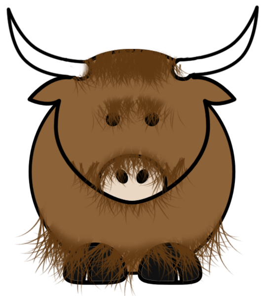 Yak free images at. Bison clipart face