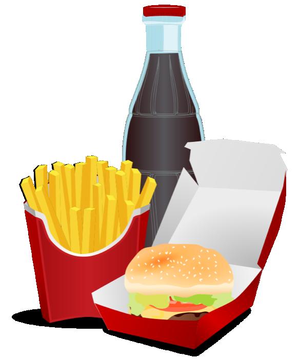 Hamburger pizza burger free. Clipart restaurant big meal