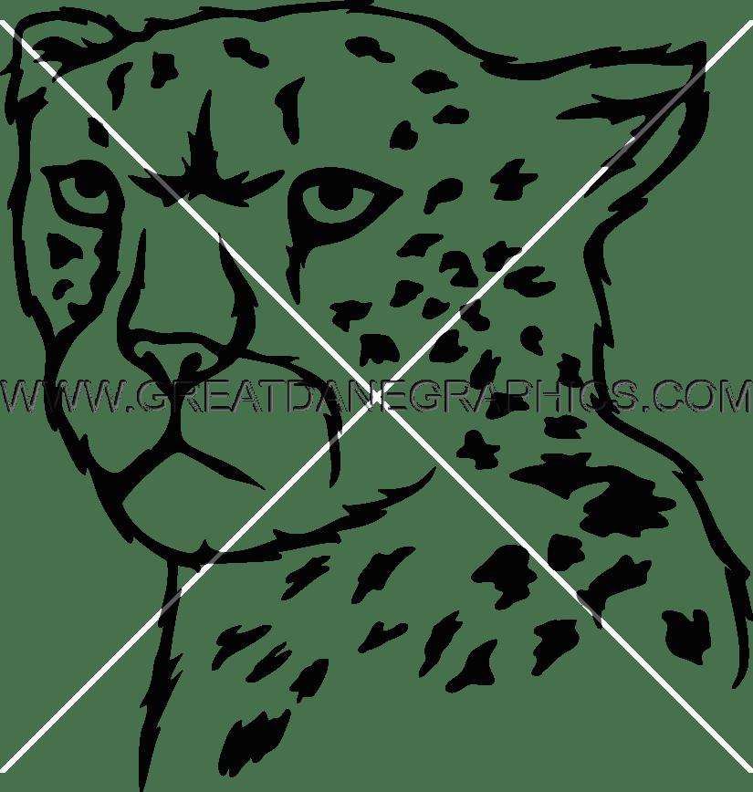 Head clipart cheetah. Drawing at getdrawings com