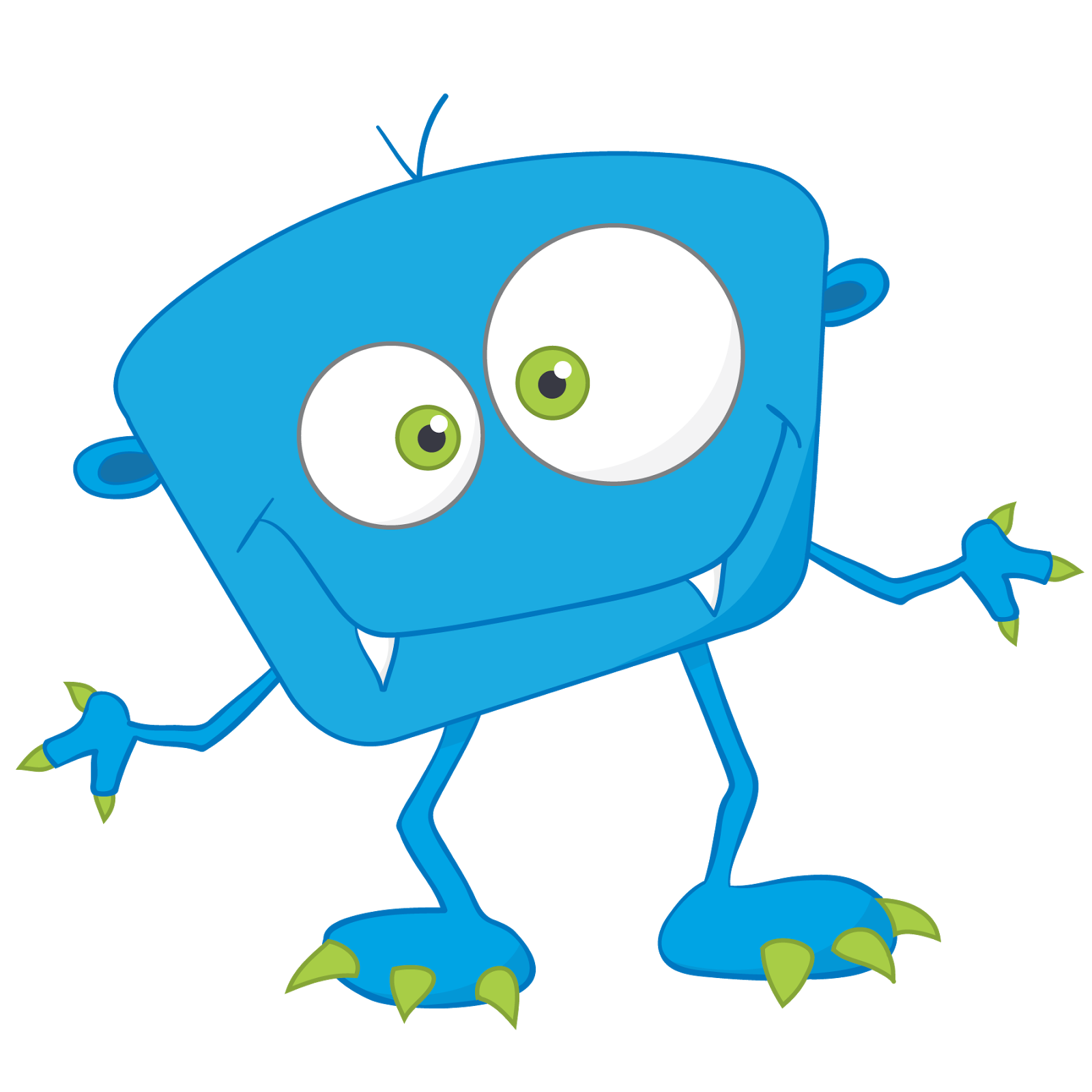 Cute clip art monsters. Monster clipart alphabet