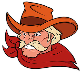 Cowboy clipart face. Free images animated cowboys