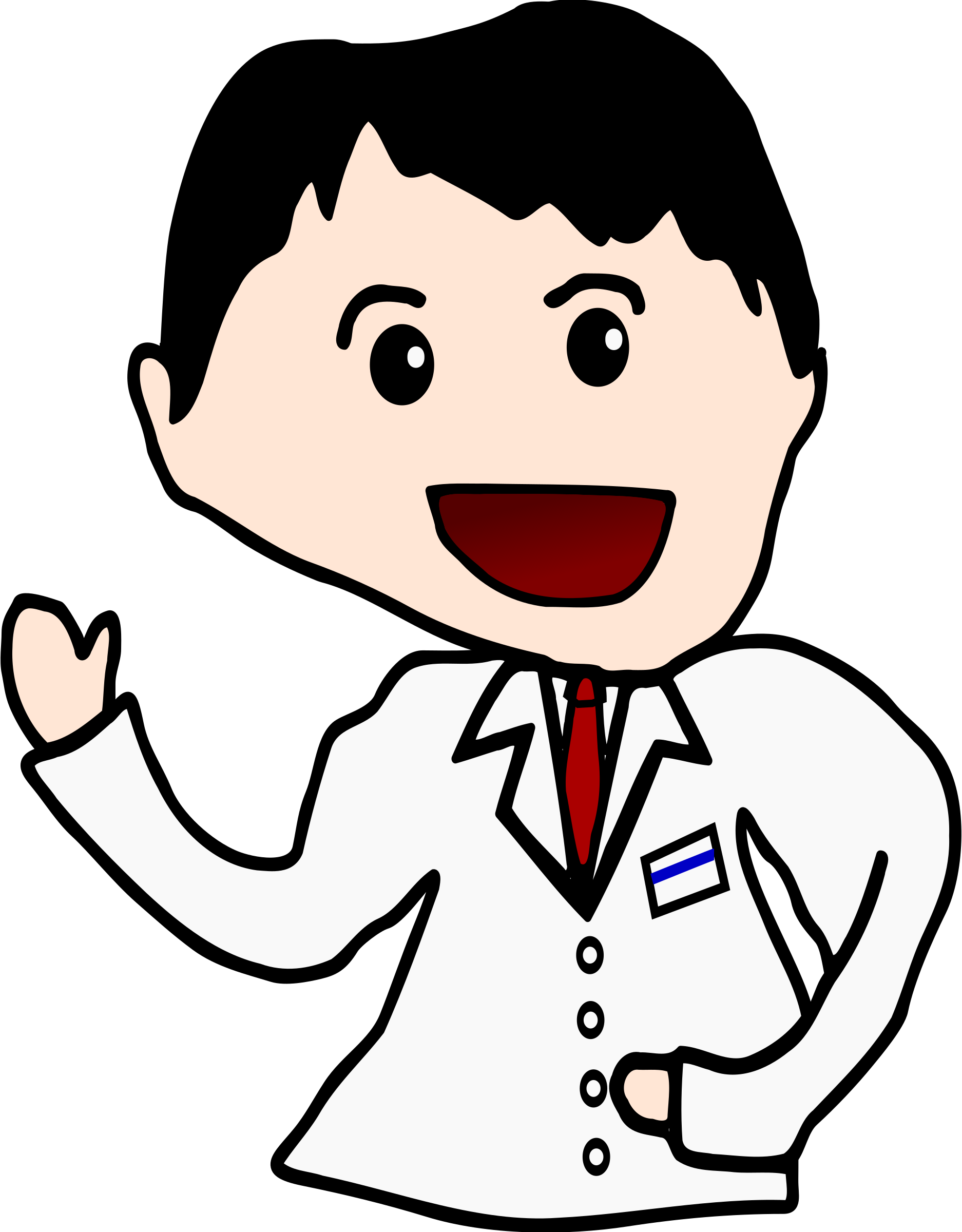 Japanese big image png. Doctor clipart eye doctor