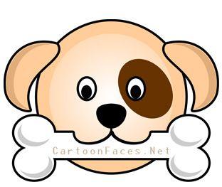 Clipart puppy puppy face. Dog clip art panda