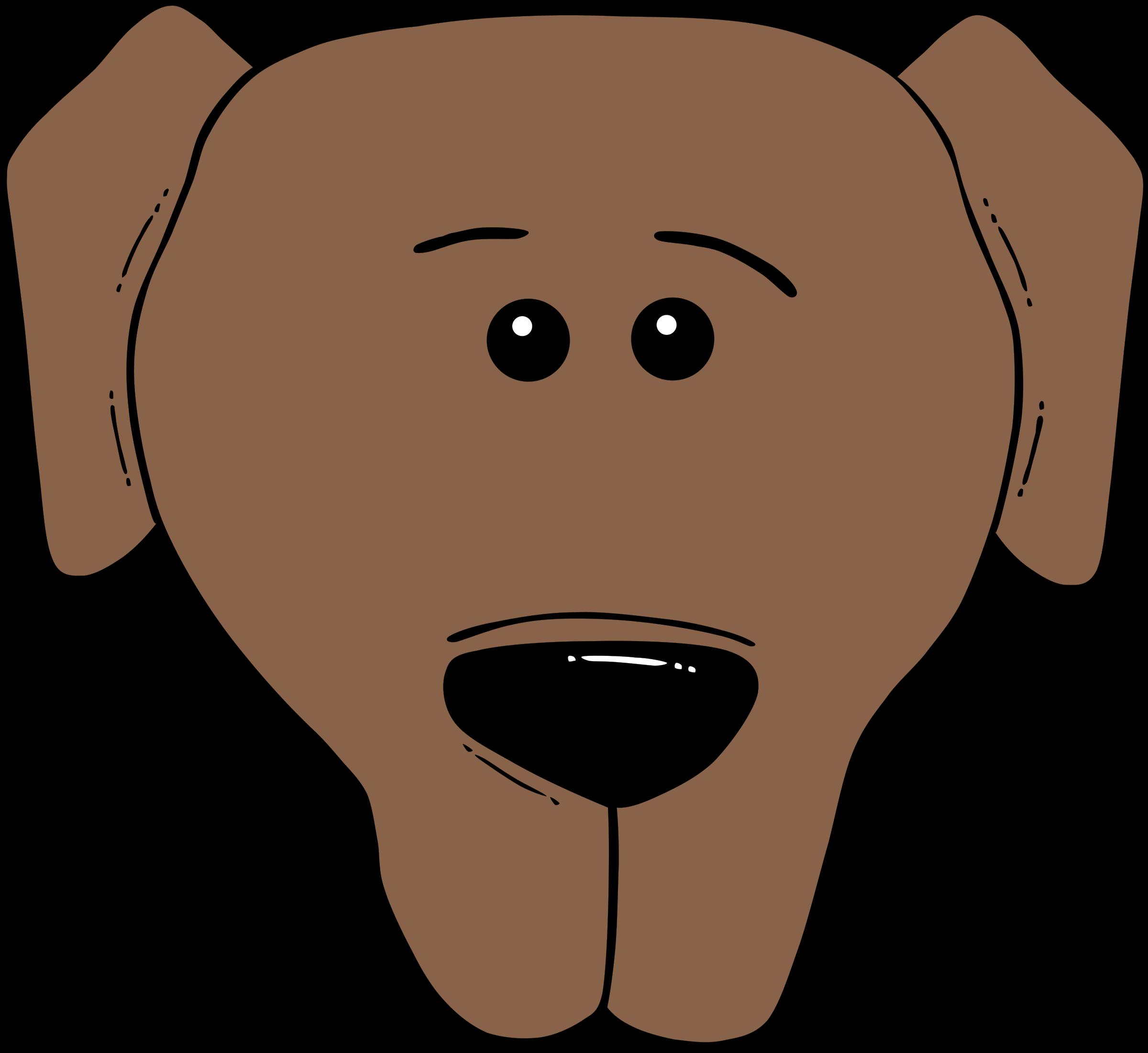Clipart world face. Dog cartoon label big