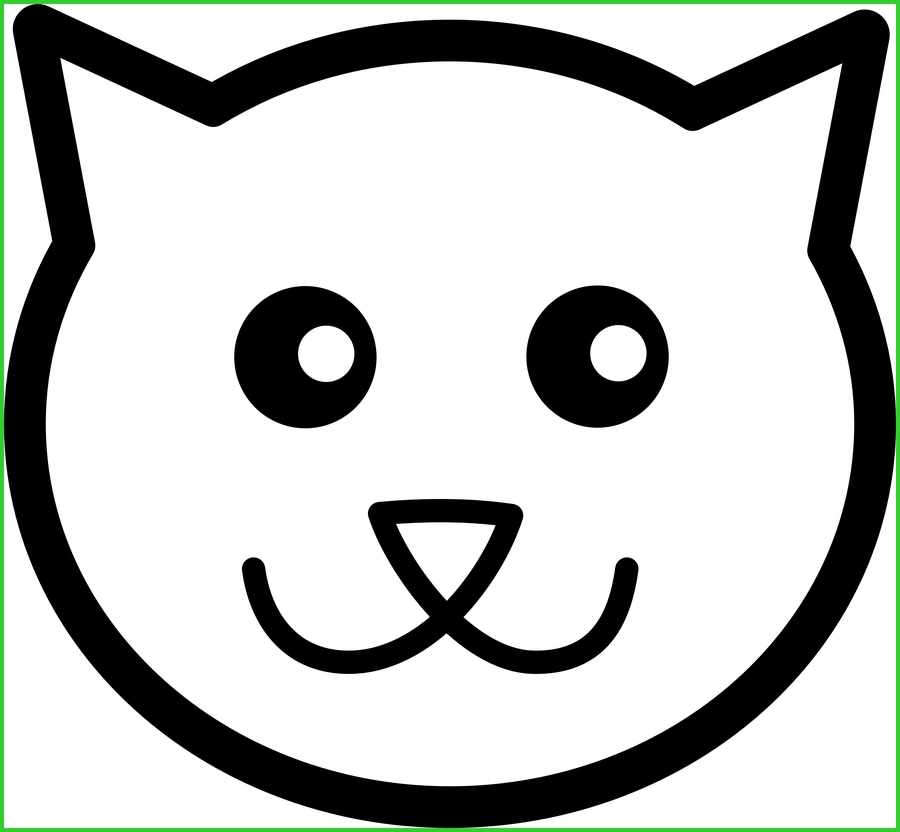 Marvelous and dog black. Coloring clipart cat