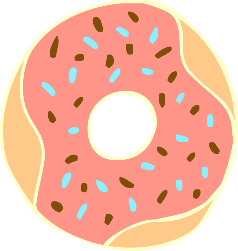 Free images pictures download. Donuts clipart green