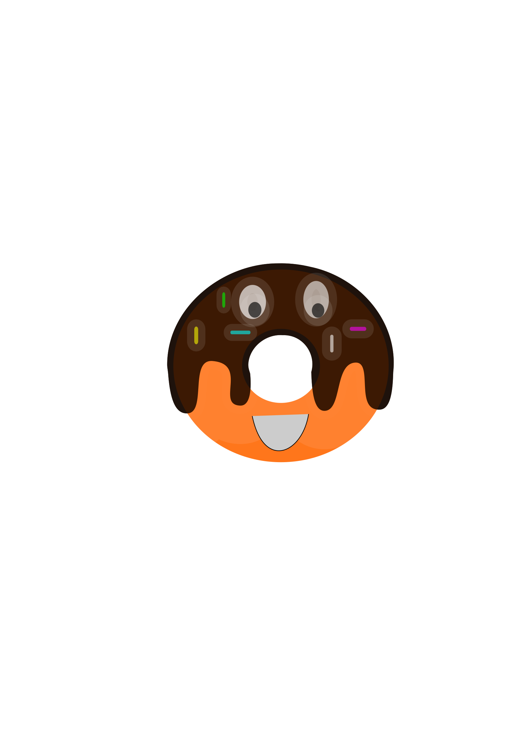 Big image png. Donuts clipart face