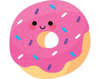 Free cartoon donut cliparts. Donuts clipart carton