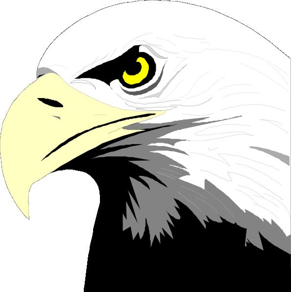 Eagles clipart svg. Bald eagle head clip