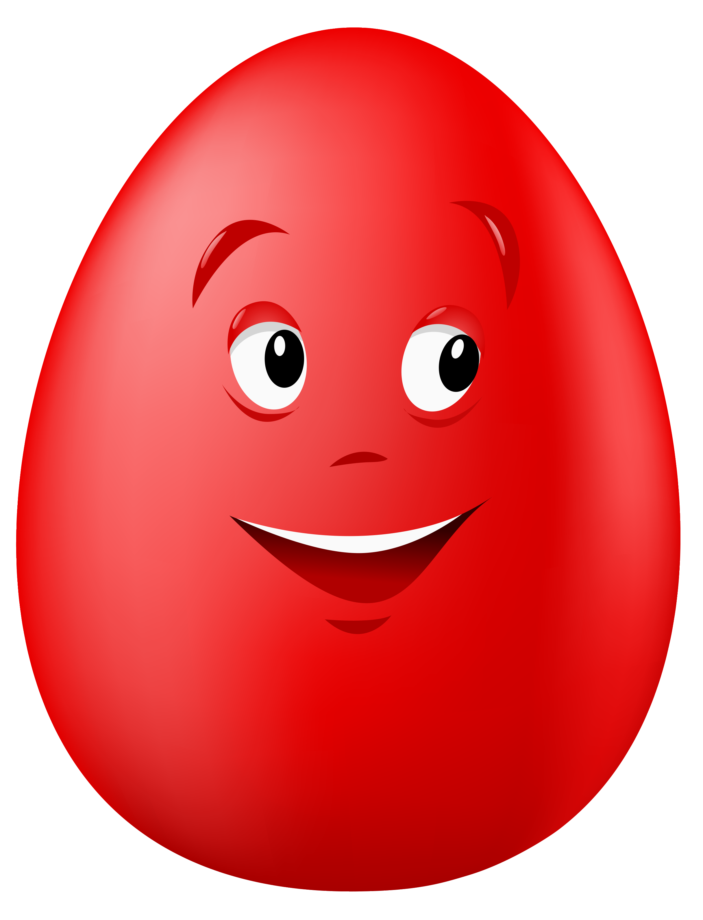 Transparent easter red smiling. Clipart smile sweet smile