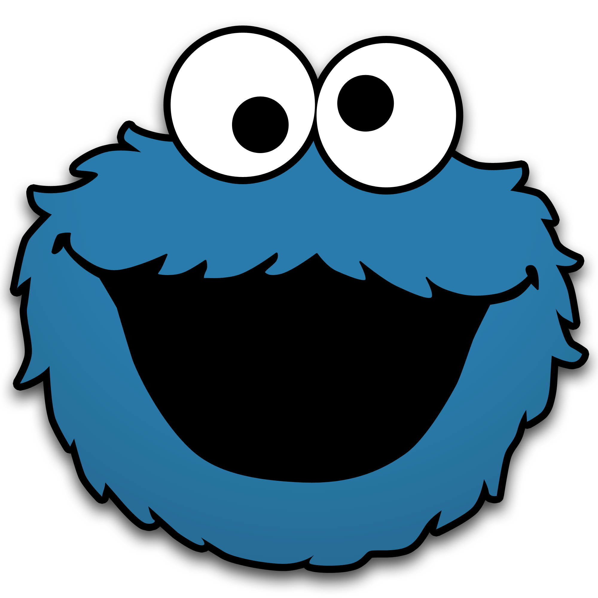Fishbowl clipart container. Cookie monster by neorame