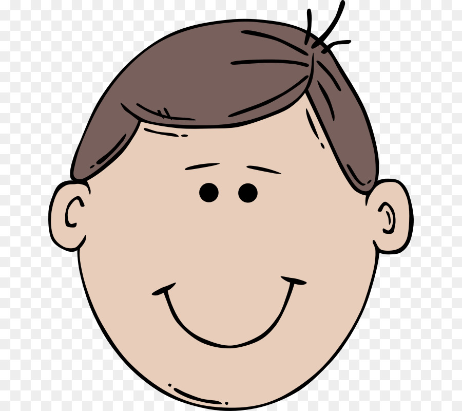 Father clipart father head. Cartoon illustration face