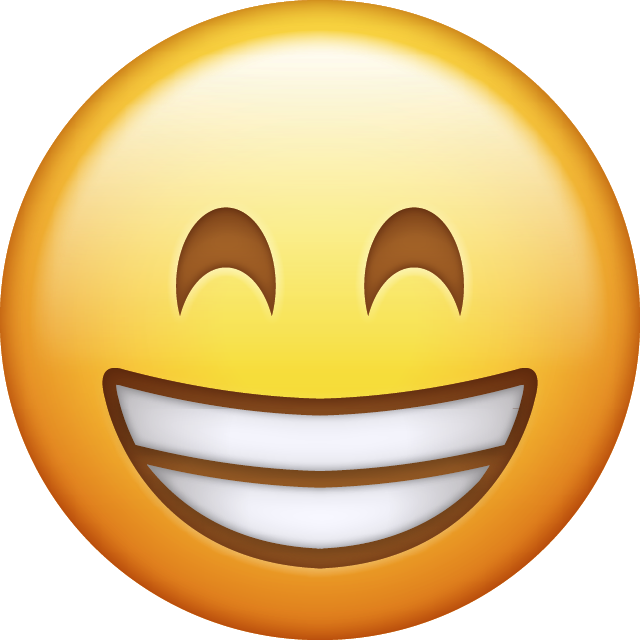 Excited clipart cheerful. Emoji png ile ilgili