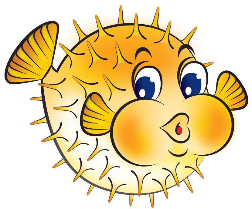 Youtube clipart league. Puffer fish clip art