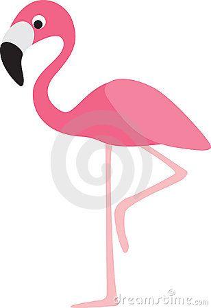 Flamingo clipart face. Cartoon royalty free stock