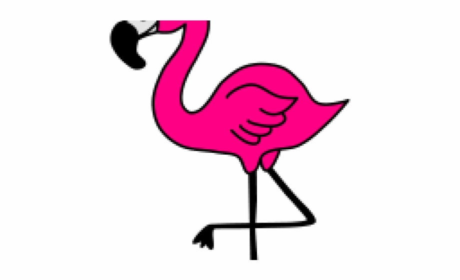 Cute clip art library. Flamingo clipart face