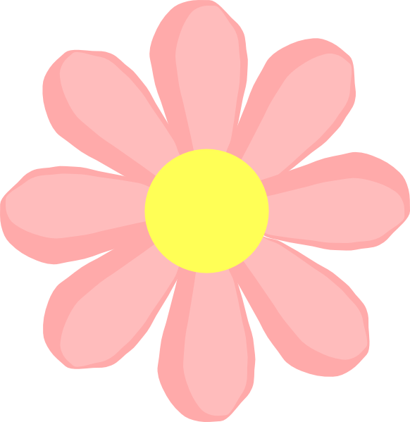 Pink clipart animated free. Flower cartoon png