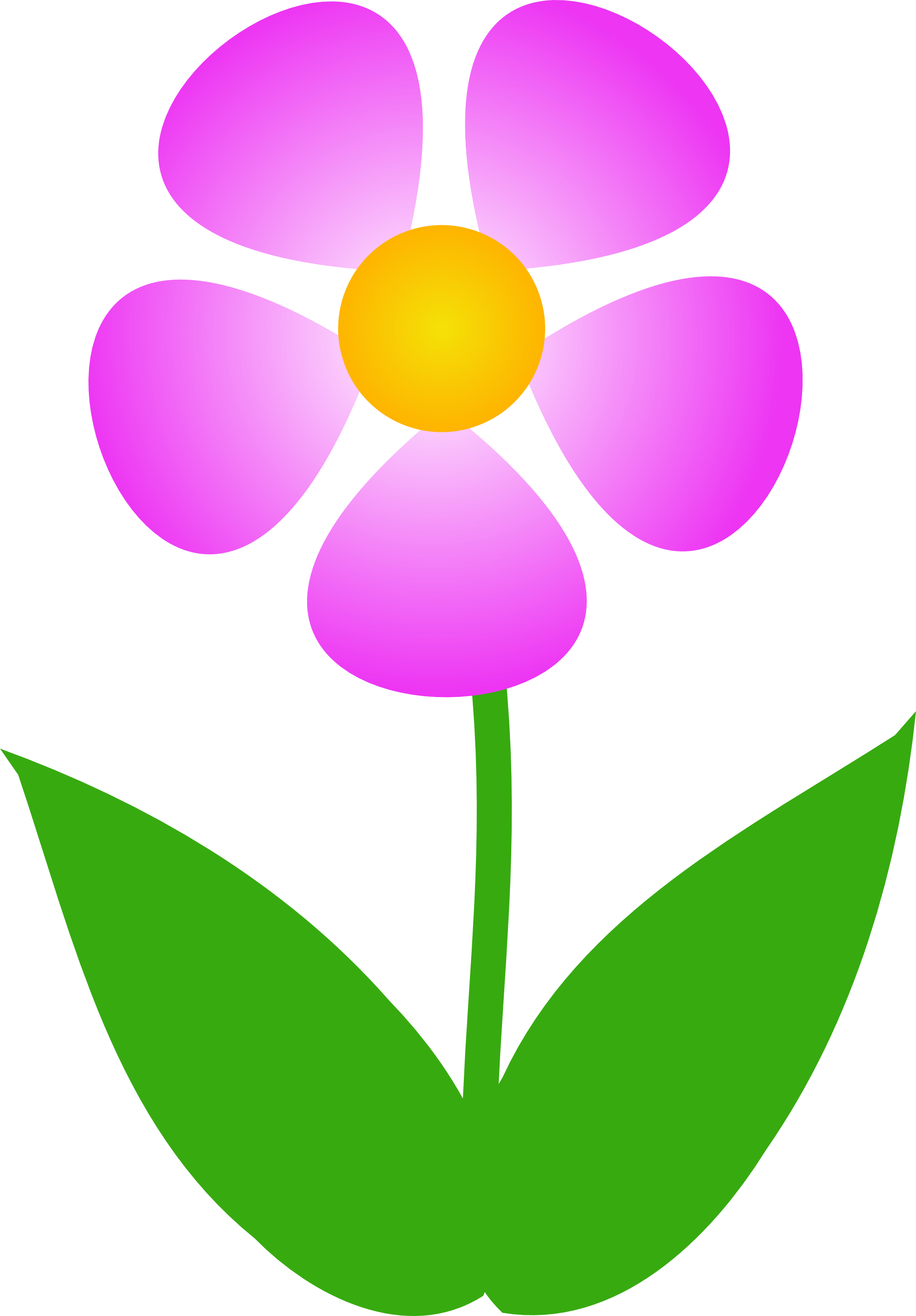 Free images of flowers. Kids clipart flower