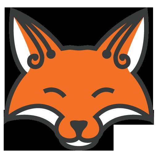 fox clipart face