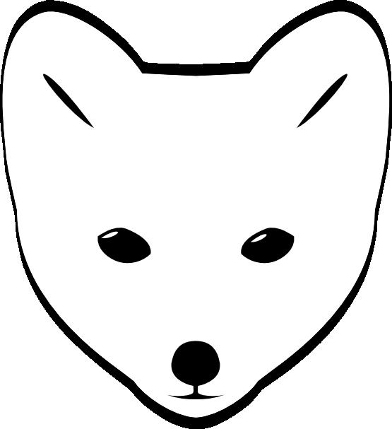 Nose clipart fox. Head clip art panda