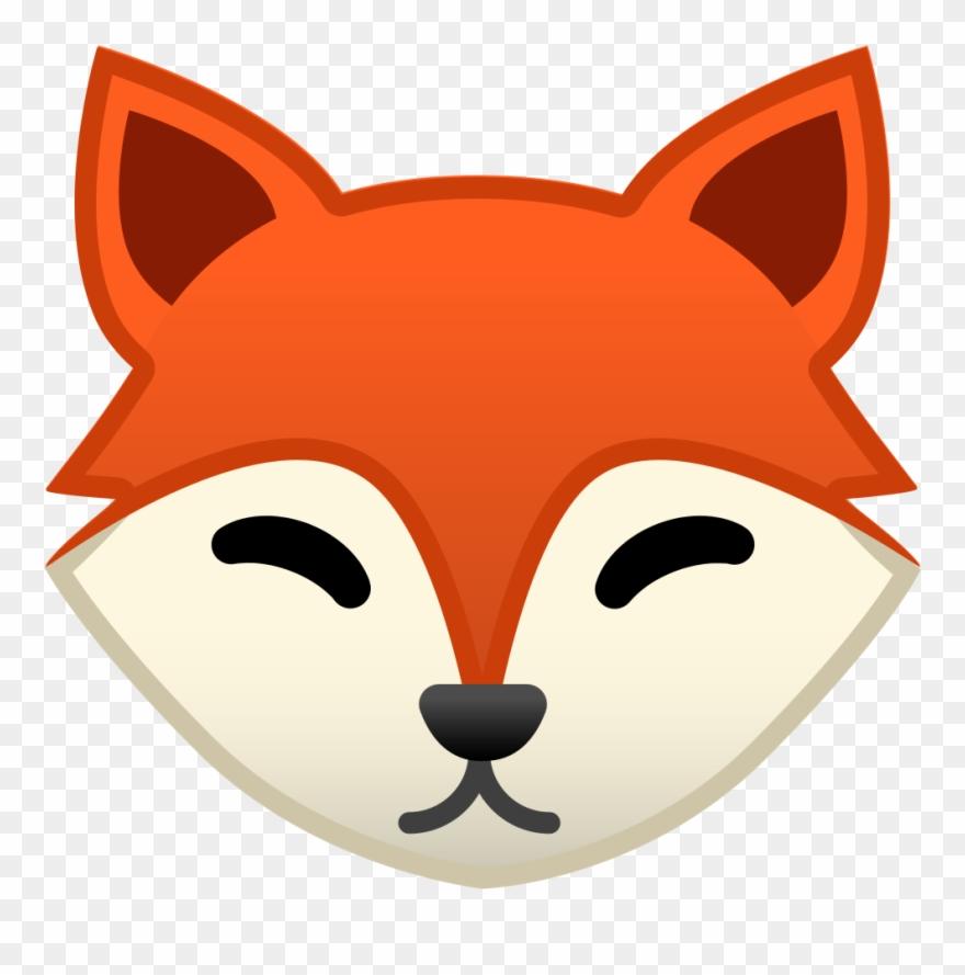 Icon zorro emoji pinclipart. Fox clipart face