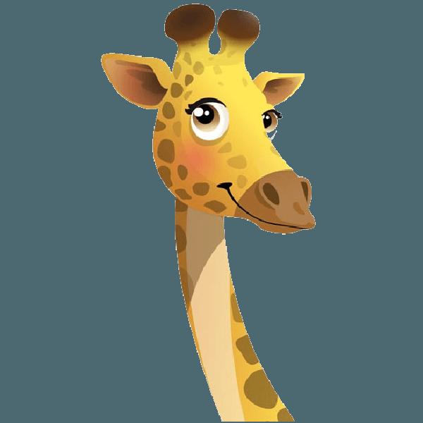Neck clipart giraffe.  collection of face