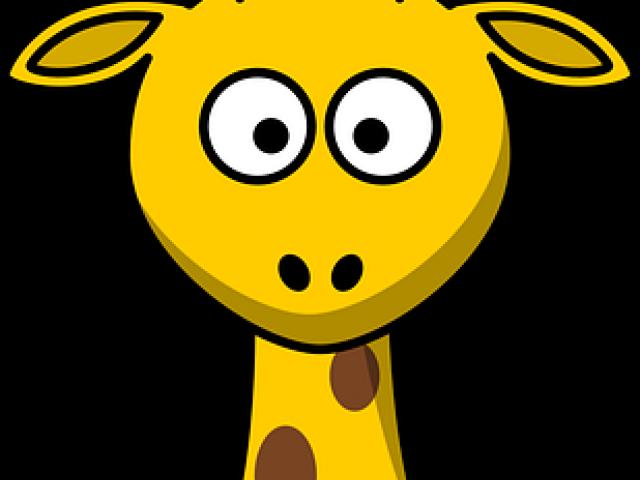 Cartoon picture free download. Giraffe clipart face