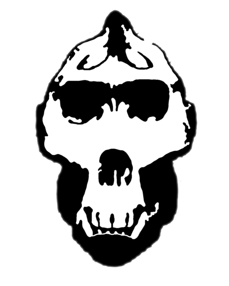Silhouette at getdrawings com. Clipart face gorilla