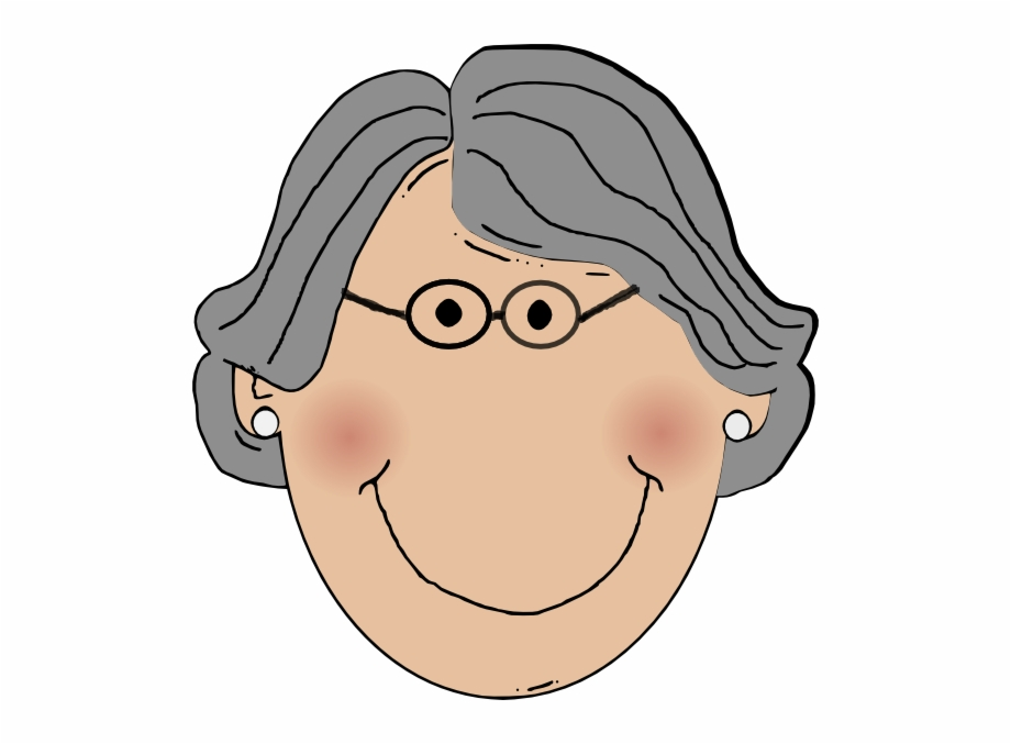 Grandmother clipart father. Smiley face clip art