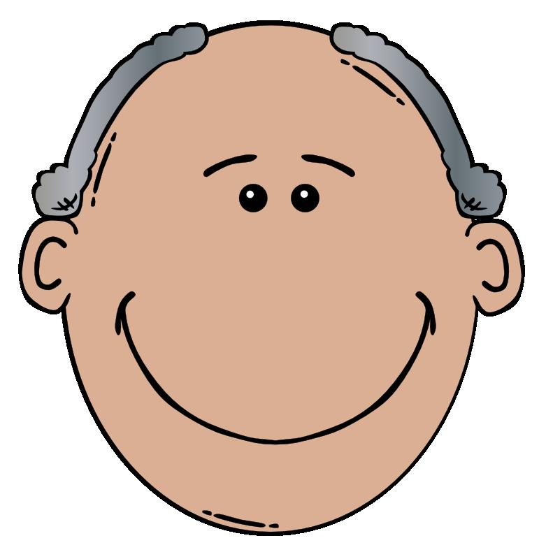 Photo clipart face. Grandpa