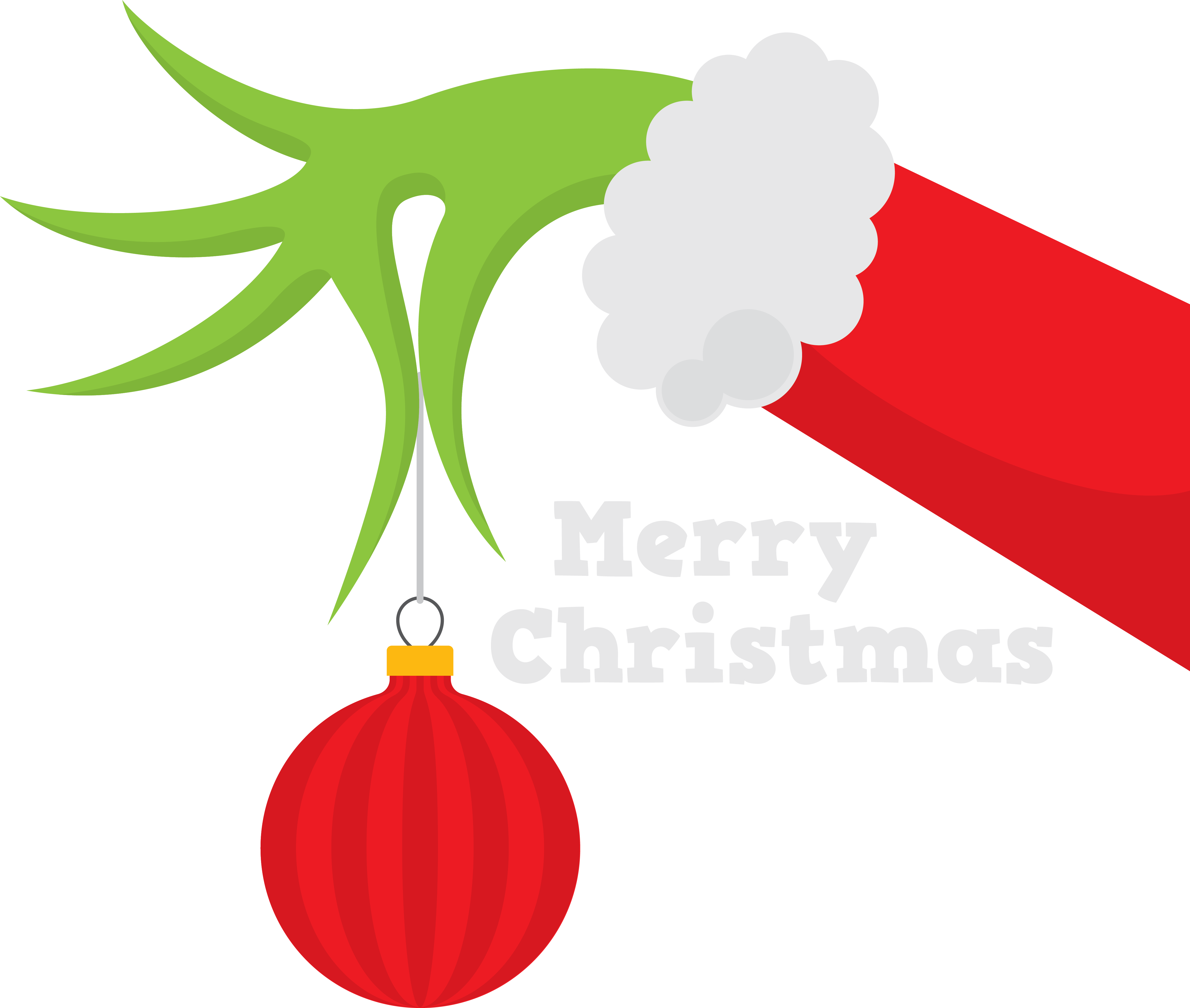 Sleigh clipart tree lighting. The grinch silhouette at