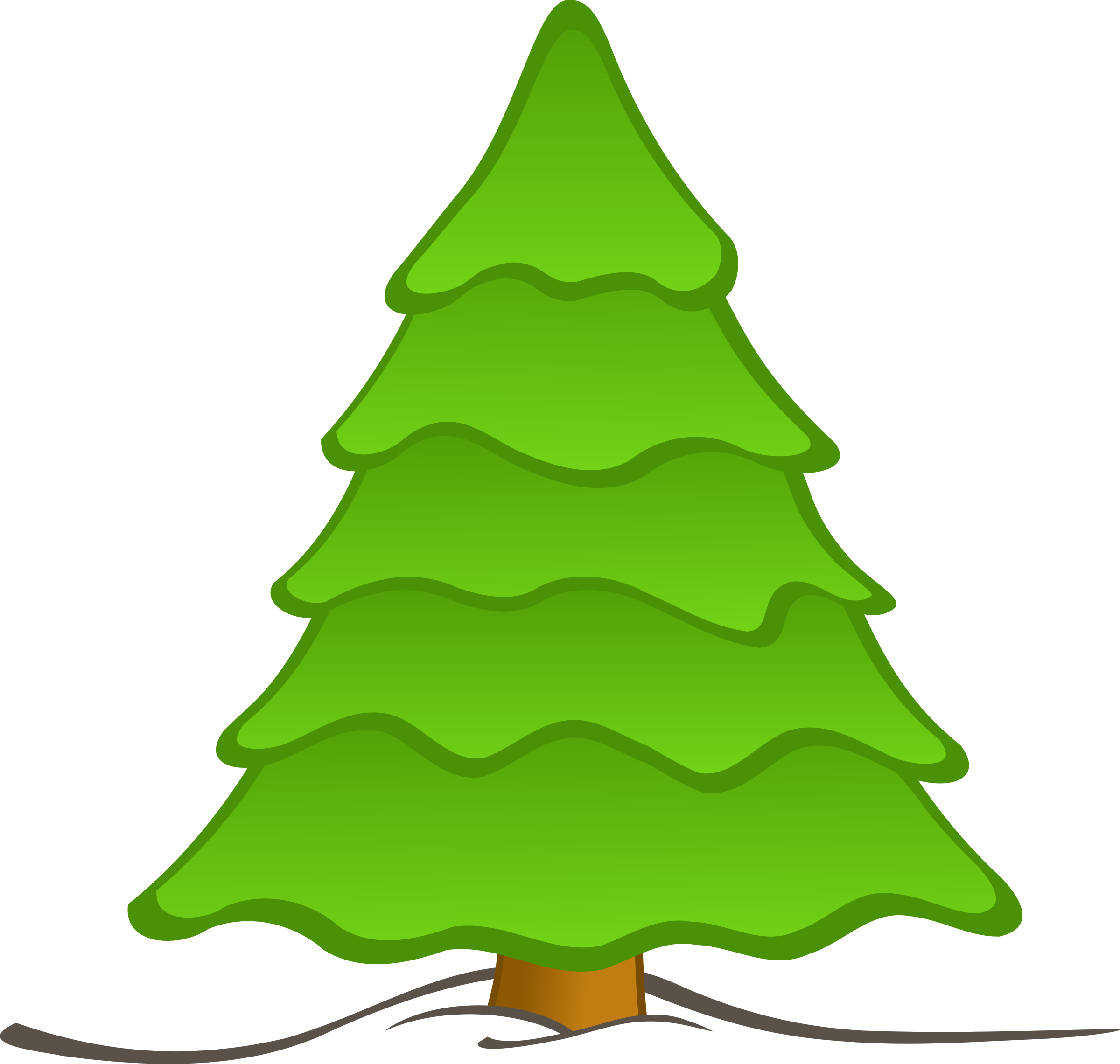 Sapin big image png. Clipart face grinch