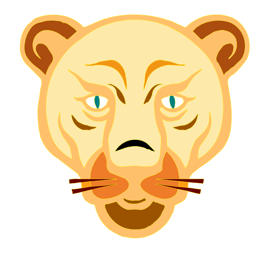 Hamster clipart face. Baby lion panda free