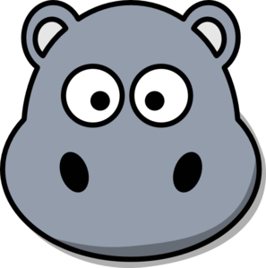 Hippo clipart face. Free cliparts download clip