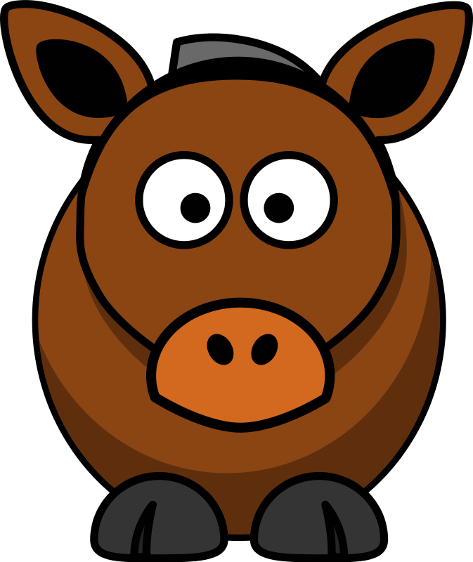 At getdrawings com free. Face clipart horse