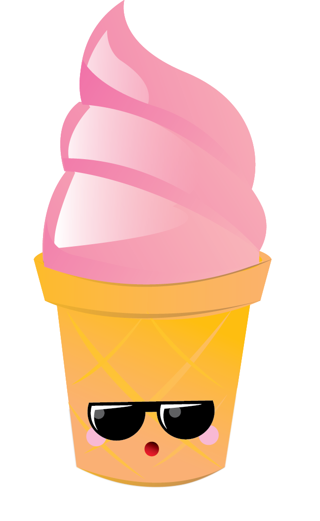 icecream clipart kawaii